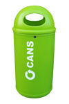 Picture of Classic Recycling Bin with White Recycling Message