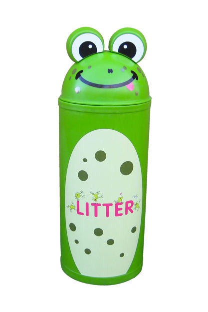 Picture of Large Frog Litter Bin