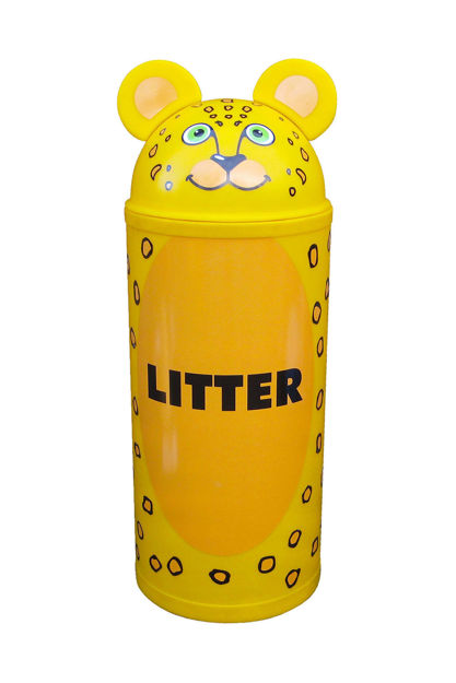 Picture of Large Leopard Bin