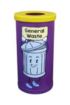 Picture of Popular Recycling Bin with Recycling Character Graphics