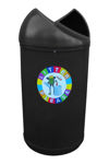 Picture of Twist Litter Bin with Frog Logo