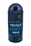 Picture of Slimline Classic with Blackboard Recycling Graphics