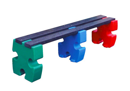 Picture of Jigsaw 4 Person Bench