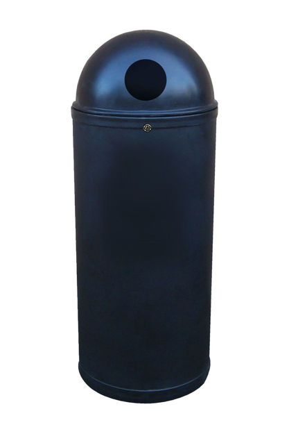 Picture of 100% Recycled Slimline Classic Litter Bin