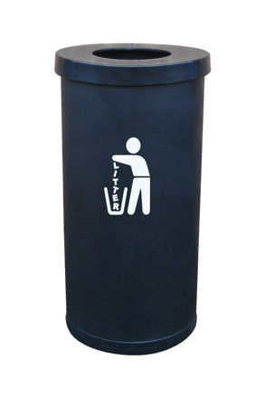 Picture of 100% Recycled Popular Litter Bin