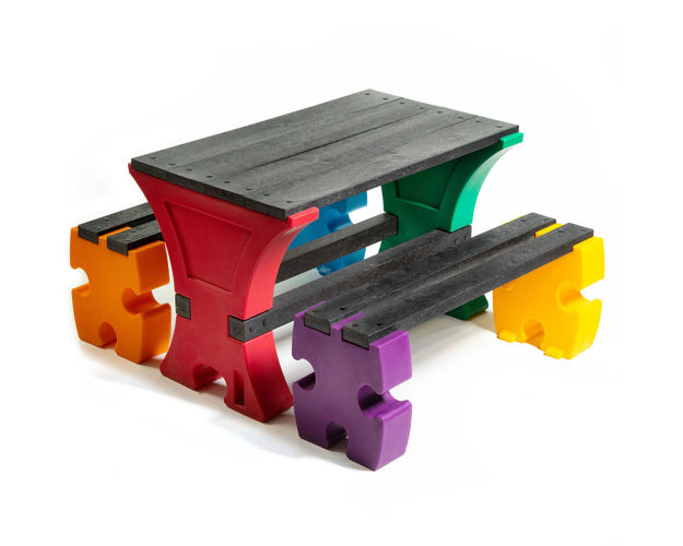 Picture of Junior Jigsaw Table & Bench Set