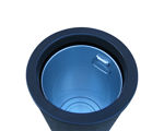 Picture of Universal Litter Bin with Gold Banding