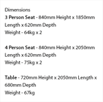 Picture of Premier 6-8  Person Table & Seat Set