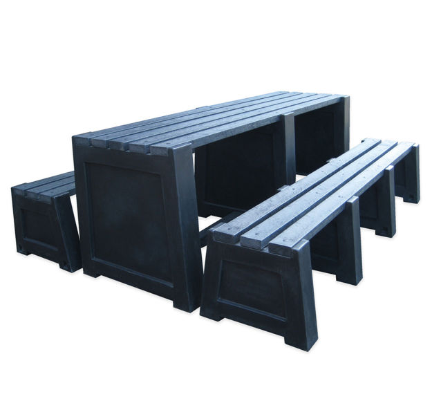 Picture of 100% Recycled Imperial Table & Bench Sets