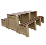 Picture of Imperial Table and Bench Set