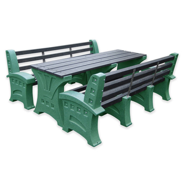 Picture of Premier 8 Person Table & Seat Set