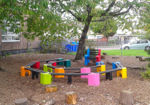 Picture of Multi-coloured Learning Arena with Teachers Chair