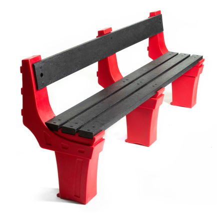 Picture of Wall Mounted Seats - 4 person