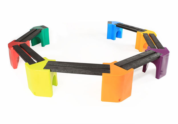 Picture of Multi-coloured Learning Curve - Single Unit