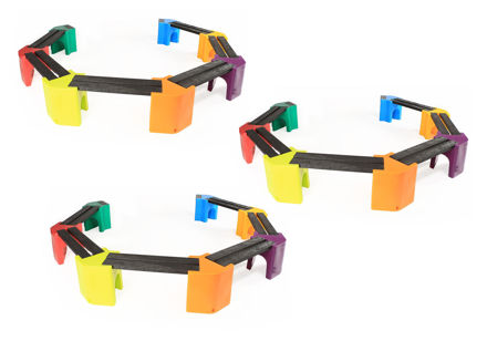 Picture of Multi-coloured Learning Curve - Triple Unit