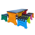 Picture of Premier 8 Person Table & Bench Set