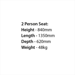 Picture of 100% Recycled 2 Person Premier Seat