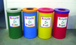 Picture of Popular Recycling Bin with Junior Style Graphics