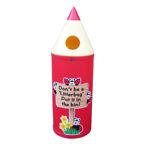 Picture of Midi Pencil Litter Bin with Bug Graphics