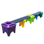 Picture of Modular Double Bench or Corner Shape with Planter Boxes (MSP-3)